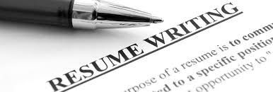 resume writting services