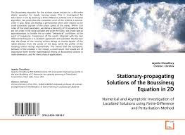 bookcover of stationary propagating solutions of the boussinesq equation in 2d
