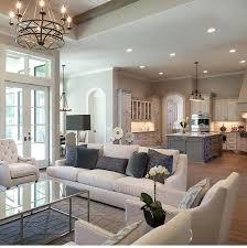 Open Floor Plan Decorating Ideas Living Room Shabby Chic Style Decor ...