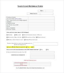 Referral Form Templates Web Form Templates Free Download Dialab Co
