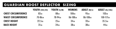 Chest Protector Size Chart Details About 2020 Thor Mx Sentinel Gp Chest Protector Roost Guard Mx Offroad Pick Size Color