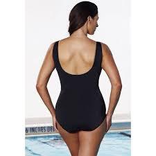 Shop Aquabelle Xtra Life Lycra Mint Zip Front Swimsuit