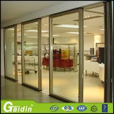 china supplier aluminum sliding glass door for residential room