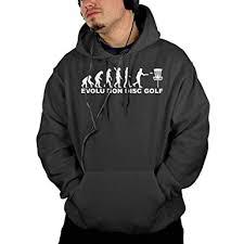 Keq Jsw Mens Sports Sweatshirt Hoodie Evolution Disc Golf