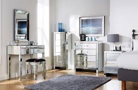 Mirrored Furniture In Bedroom Bedroom Elegant Mirrored Bedroom Furniture Mirrored Furniture For
