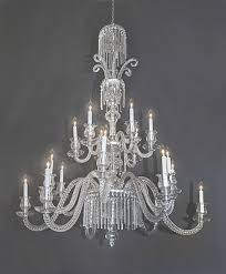 19th century baccarat crystal chandelier french antique with regard to baccarat chandelier gallery