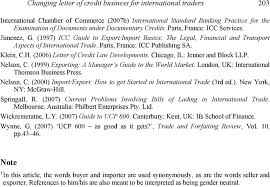 Letter Of Credit Classy UCP 44 Rules Changing Letter Of Credit Business For International