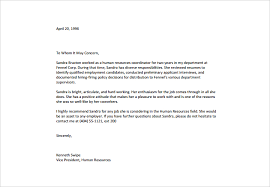 Ideas Of Sample Of Employee Re Mendation Letter Reference Letter For