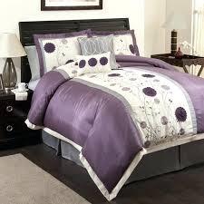 purple fl bedding deep green purple fl erfly bedding set king size queen for in purple