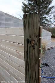 DIY Modern Wood Fence and Gate Courtyard Edition myMCMlifecom