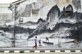 download ipoh wall art mural evolution editorial photo image of malaysia painting  on mural wall art ipoh with ipoh wall art mural evolution editorial photo image of malaysia