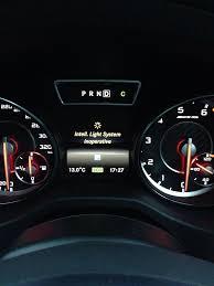 Abs inoperative message mercedes benz forum. Intell Light System Inoperative Mercedes Cla Forum