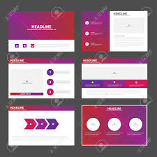 purple pink presentation templates infographic elements flat purple pink presentation templates infographic elements flat design set for brochure flyer leaflet marketing advertising stock