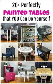 20 perfectly painted tables that you