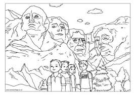 Small Picture Mount Rushmore Printable Coloring PagesRushmorePrintable