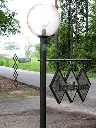 mid century modern outdoor lighting. midcentury house sign and custom mailbox mid century modern outdoor lighting