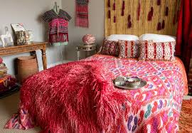 tulu textiles eclectic bedroom and