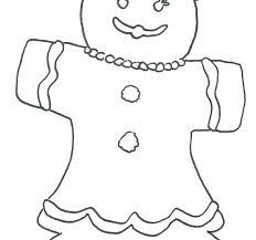 Gingerbread House Coloring Sheets Blank Pages Candy Gingerbread