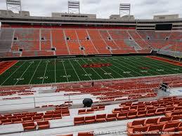 Boone Pickens Stadium Interactive Seating Chart Boone Pickens Stadium View From Upper Level 332 Vivid Seats