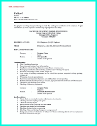 Examples Of Resumes Good Resume Bad Example Choose 14 Great
