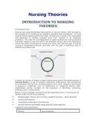 nursing theories nursing theories documents