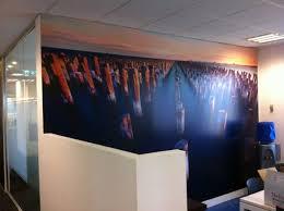 prints for office walls. custom digital print wallpaper office feature wall prints for walls