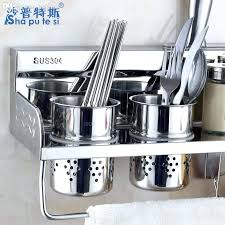 utensil holder stainless steel kitchen utensil racks kitchen utensils rack kitchen craft stainless steel utensil hanging