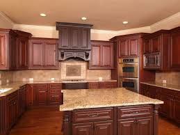 Small Kitchen Design With Cherry Cabinets painting cherry cabinets
