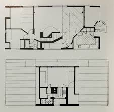 office of venturi and rauch complexity and contradiction in architecture first floor plan top second floor plan bottom