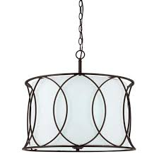 canarm monica 3 light oil rubbed bronze chandelier