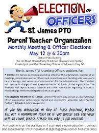 Pta Elections Flyer Pto Board Elections New Flyer More Open House