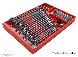 custom socket organizer sorter wrench socket organizer holder rack craftsman toolbox rail home tray box custom custom socket organizer
