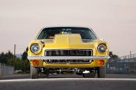 this big block powered chevrolet vega 4 1972 pro street vega front