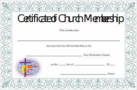15 Membership Certificate Templates Free Samples Examples