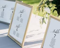 Wedding Seating Chart Seating Chart Template Wedding Seating Cards Alphabetical Seating Chart Printable Pdf Instant Download Bpb310_5b