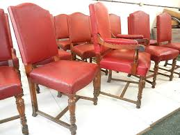 long set antique oak dining chairs set fifteen late 19th century victorian oak high back