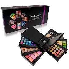 the shany beauty cliche makeup palette all in one makeup set with eyeshadows face powders and blushes amazon in beauty