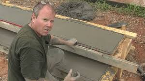 Making Cement Forms Concrete Step Form Liners Pouring Concrete Steps Youtube
