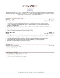 Resume Sample Templates For Students Template Good Docs College
