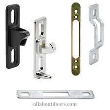 sliding door latch lock. Modren Lock Strikes U0026 Keepers Sliding Patio Glass Door For Latch Lock