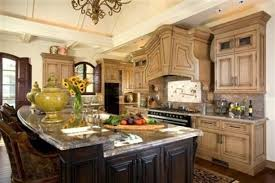 Big Kitchen Design Country French