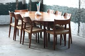 cute mid century dining table set for 6