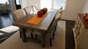 rustic dining room tables. Rustic Slate Gray- The Clayton Farm Dining Table Rustic-dining-room Room Tables I