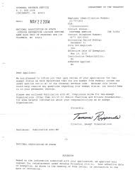 Irs Certified Letter Resume Cover Letter Example