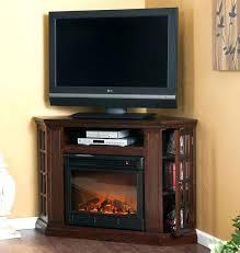 corner fireplaces entertainment center portable corner fireplace entertainment center