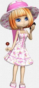 Phim hoạt hình, cô gái, barbie, tóc nâu png