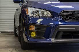 09 Wrx Fog Light Kit Fog Light Tint Overlay Rally Yellow Smoke 2015 2018 Subaru Wrx Sti