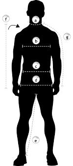 Dozer Size Chart Size Guide Geoff Anderson