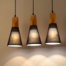 fabric pendant lighting. Image Is Loading Wood-Fabric-Pendant-Light-Modern-Ceiling-Hanging-Lamp- Fabric Pendant Lighting M