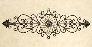 wood and metal wall decor image of wrought iron wall decor images wood framed metal wall